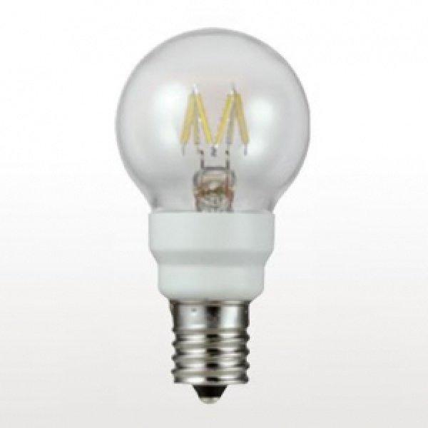 画像1: 【バラ】ウシオ LDG2L-G-E12/D8/27/4 ●LED電球 グローブ形 調光対応 全光束:50lm 白熱球10W相当 【E12口金】 直径:40mm (1)