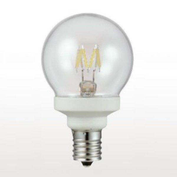 画像1: 【バラ】ウシオ LDG2L-G-E12/D8/27/5 ●LED電球 グローブ形 調光対応 全光束:50lm 白熱球10W相当 【E12口金】 直径:50mm (1)